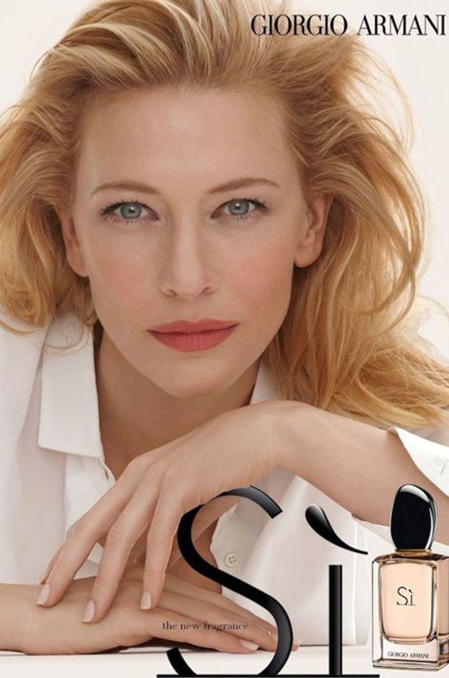 Cate Blanchett pour Giorgio Armani