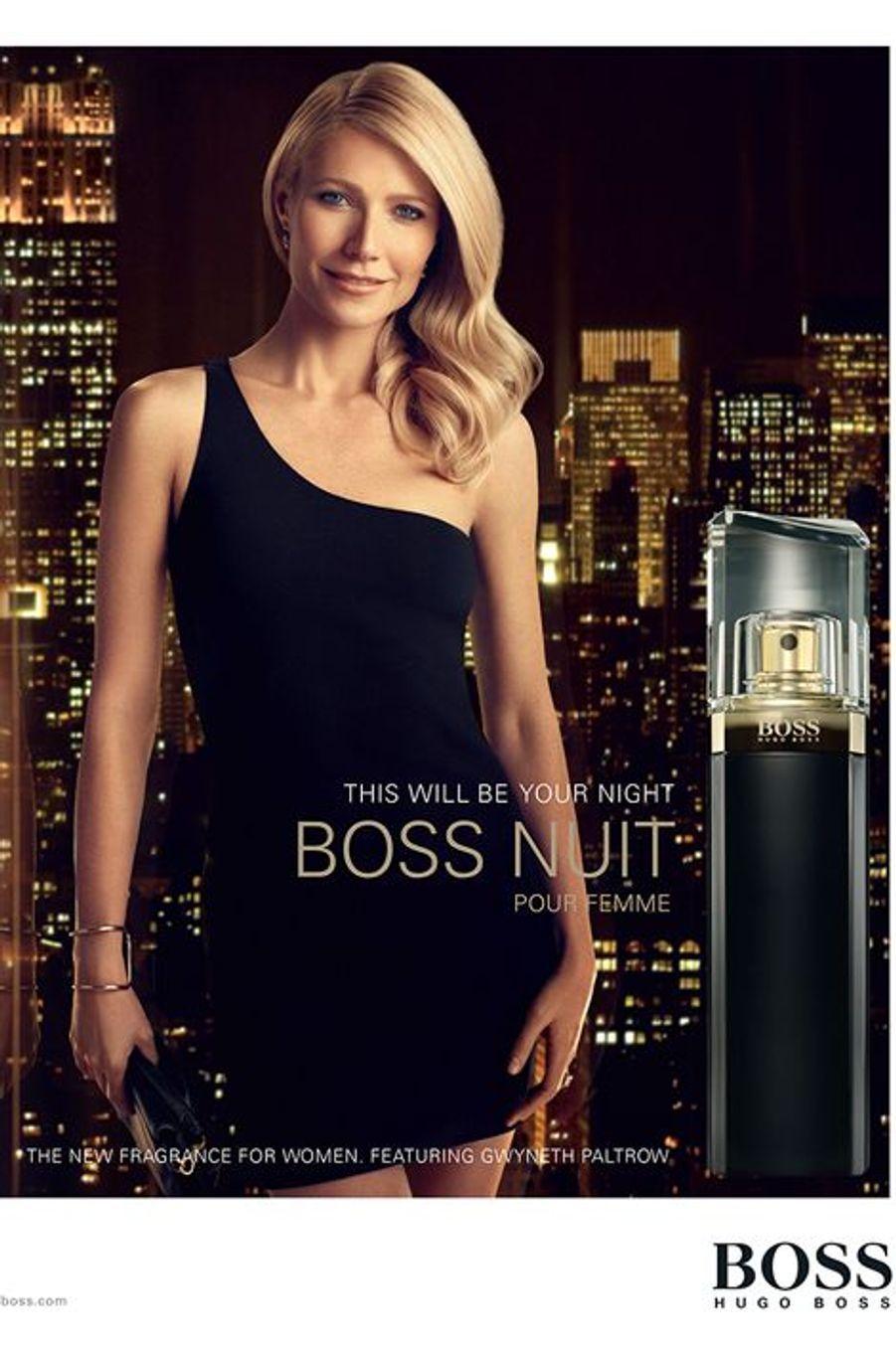 Gwyneth Paltrow pour Hugo Boss