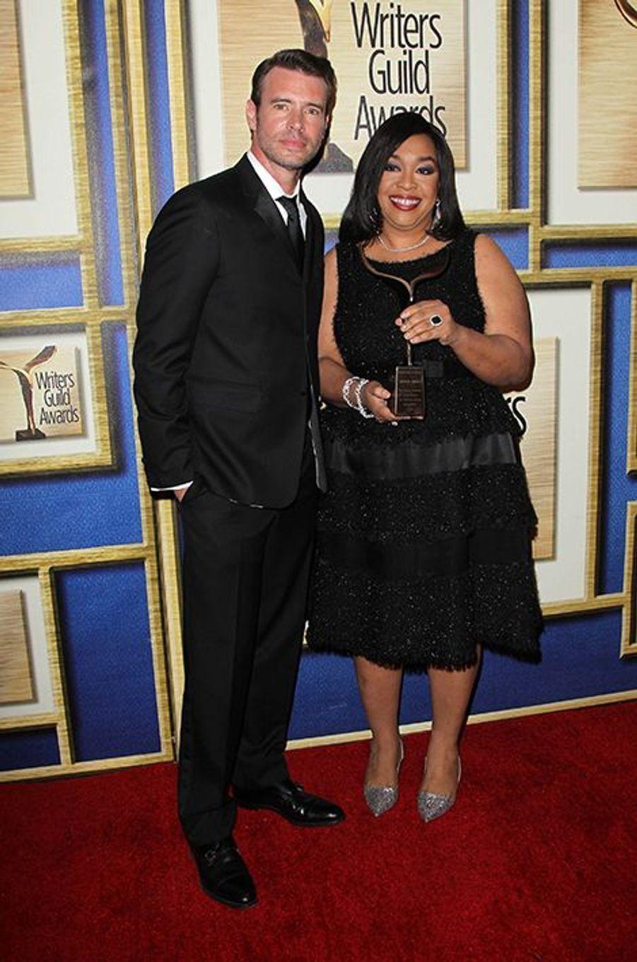 Scott Foley et Shonda Rhimes