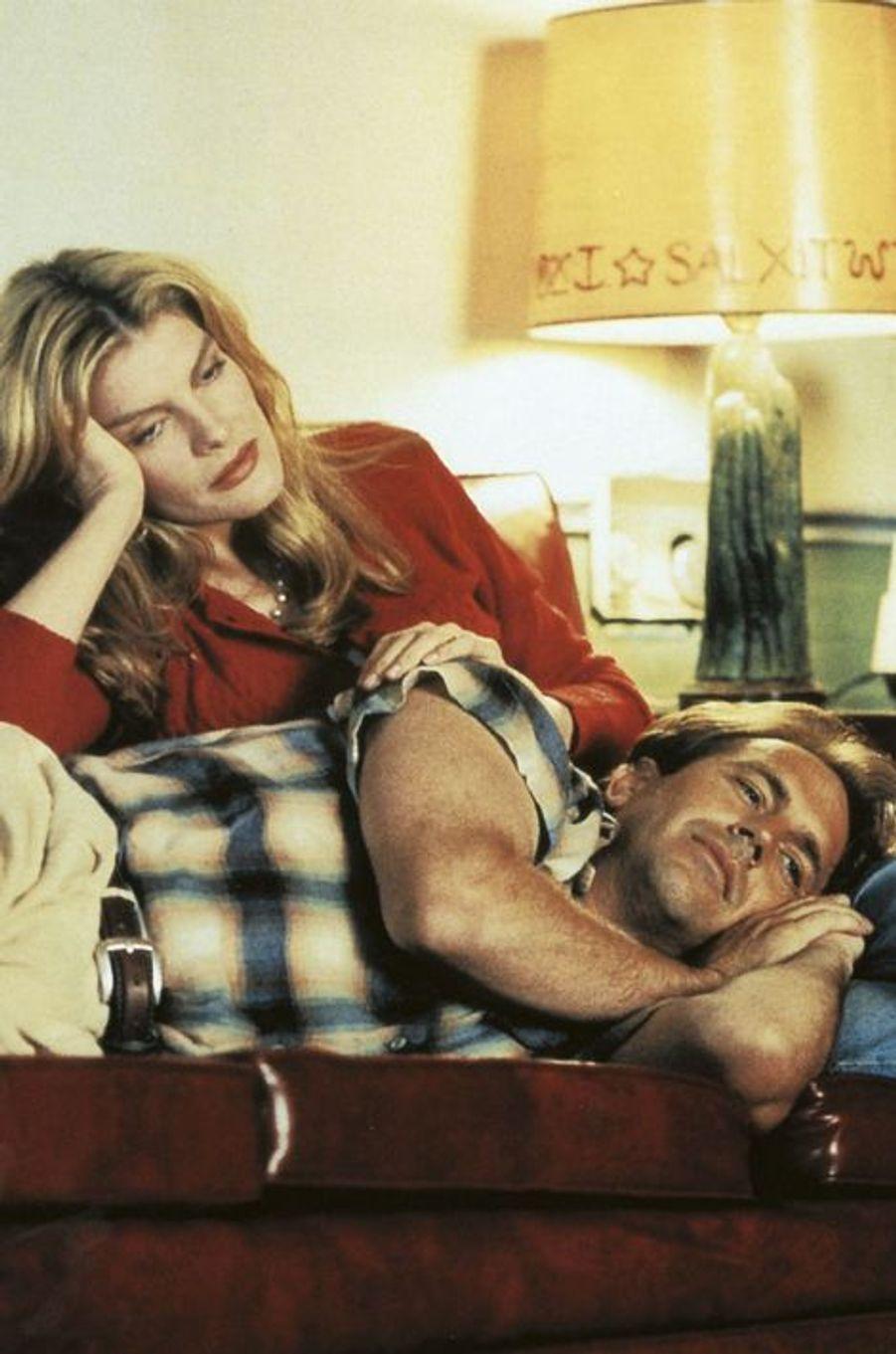"""Aux côtés de Rene Russo dans """"Tin Cup"""", sorti en 1996"""