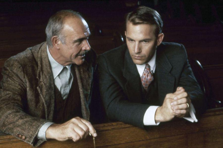 """Aux côtés de Sean Connery dans """"Les incorruptibles"""", sorti en 1987"""