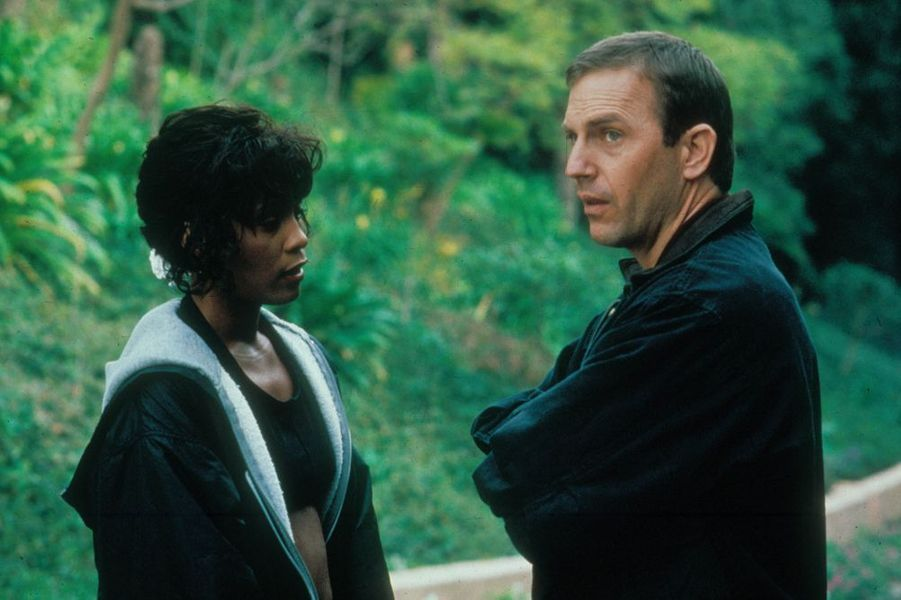 """Aux côtés de Whitney Houston dans """"Bodyguard"""", sorti en 1992"""