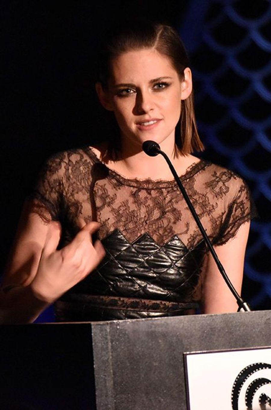 Kristen Stewart à New York le 4 janvier 2016