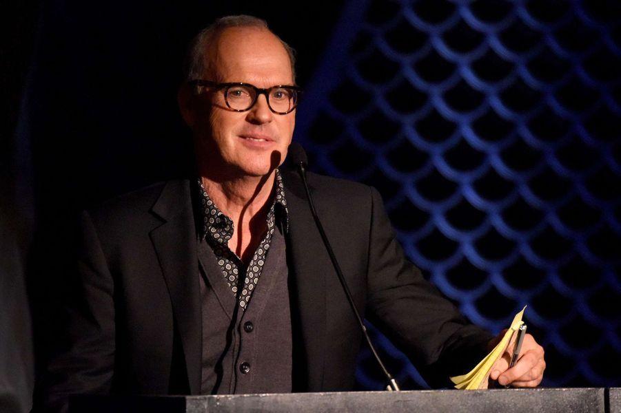 Michael Keaton à New York le 4 janvier 2016