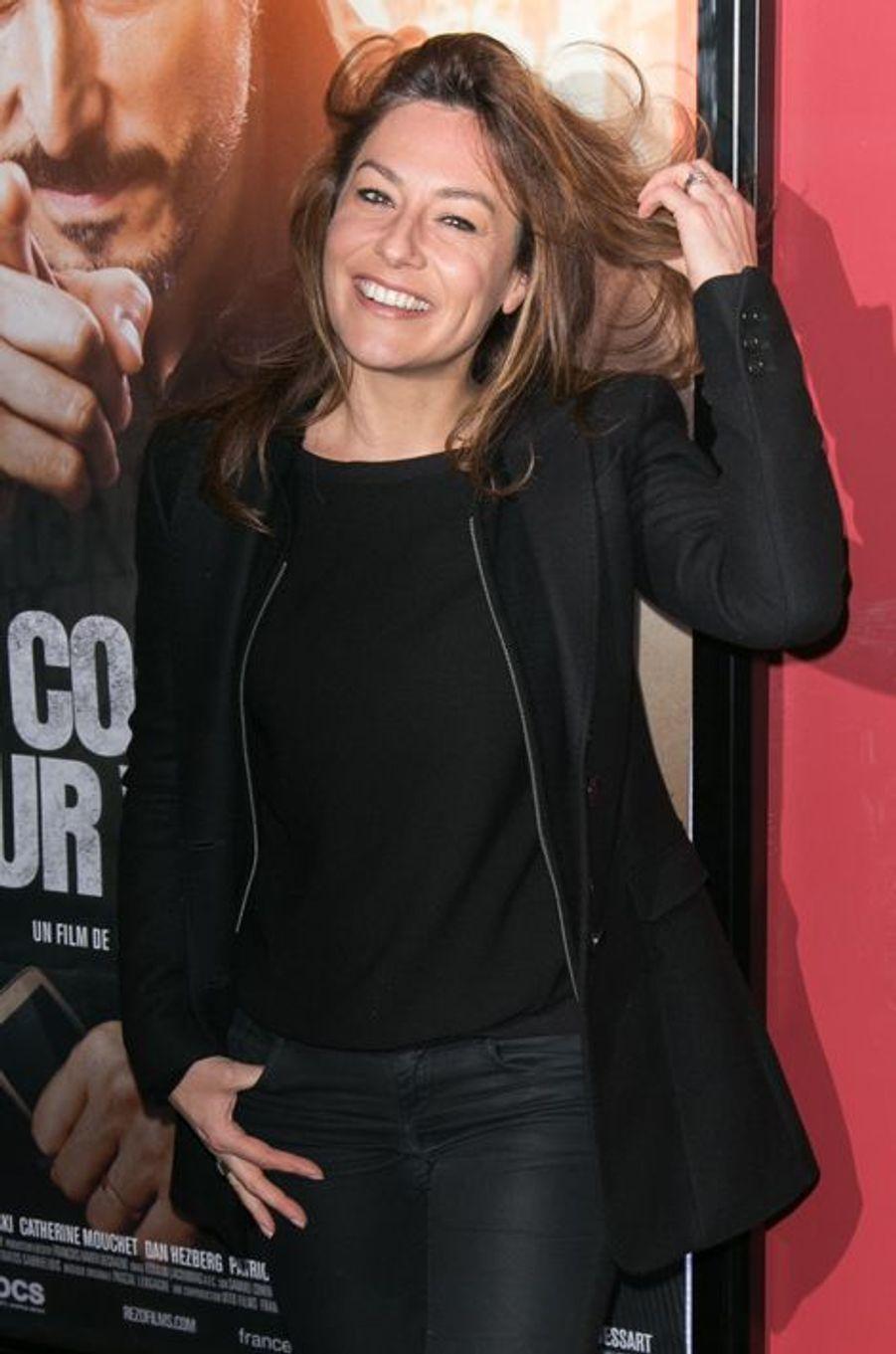 Shirley Bousquet à Paris le 21 décembre 2015