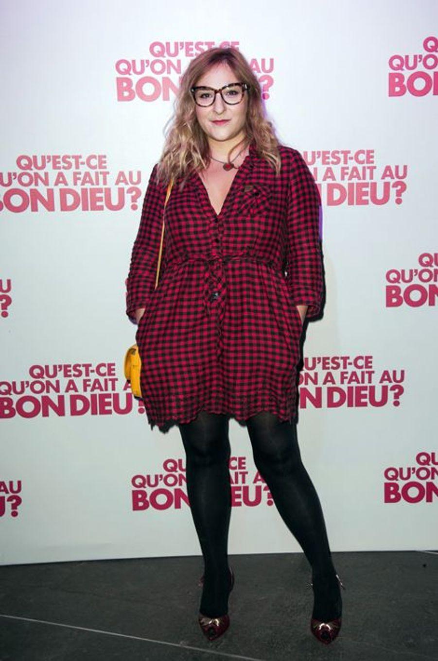 Marilou Berry à Paris le 8 décembre 2014
