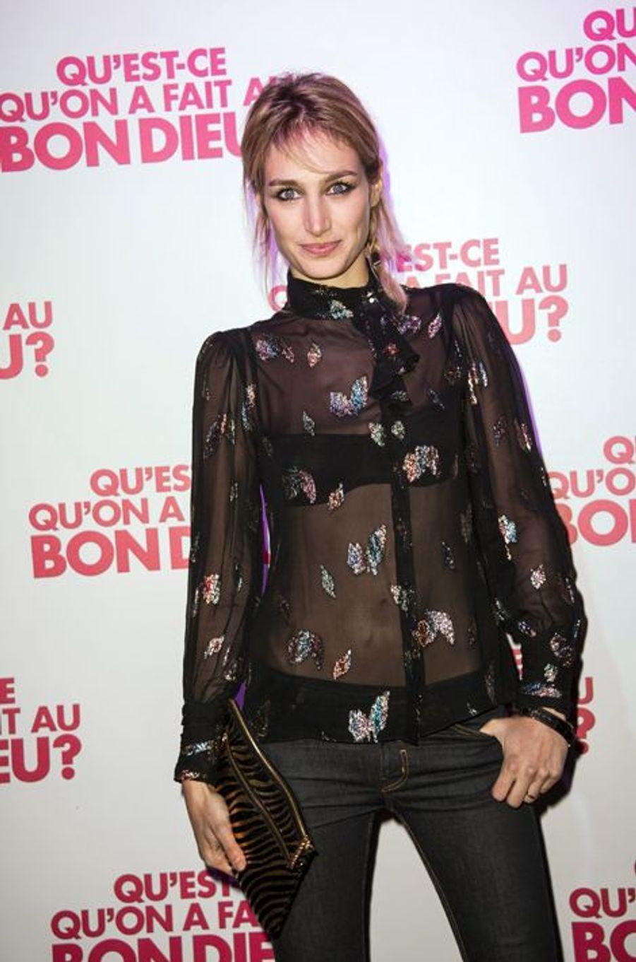 Pauline Lefèvre à Paris le 8 décembre 2014