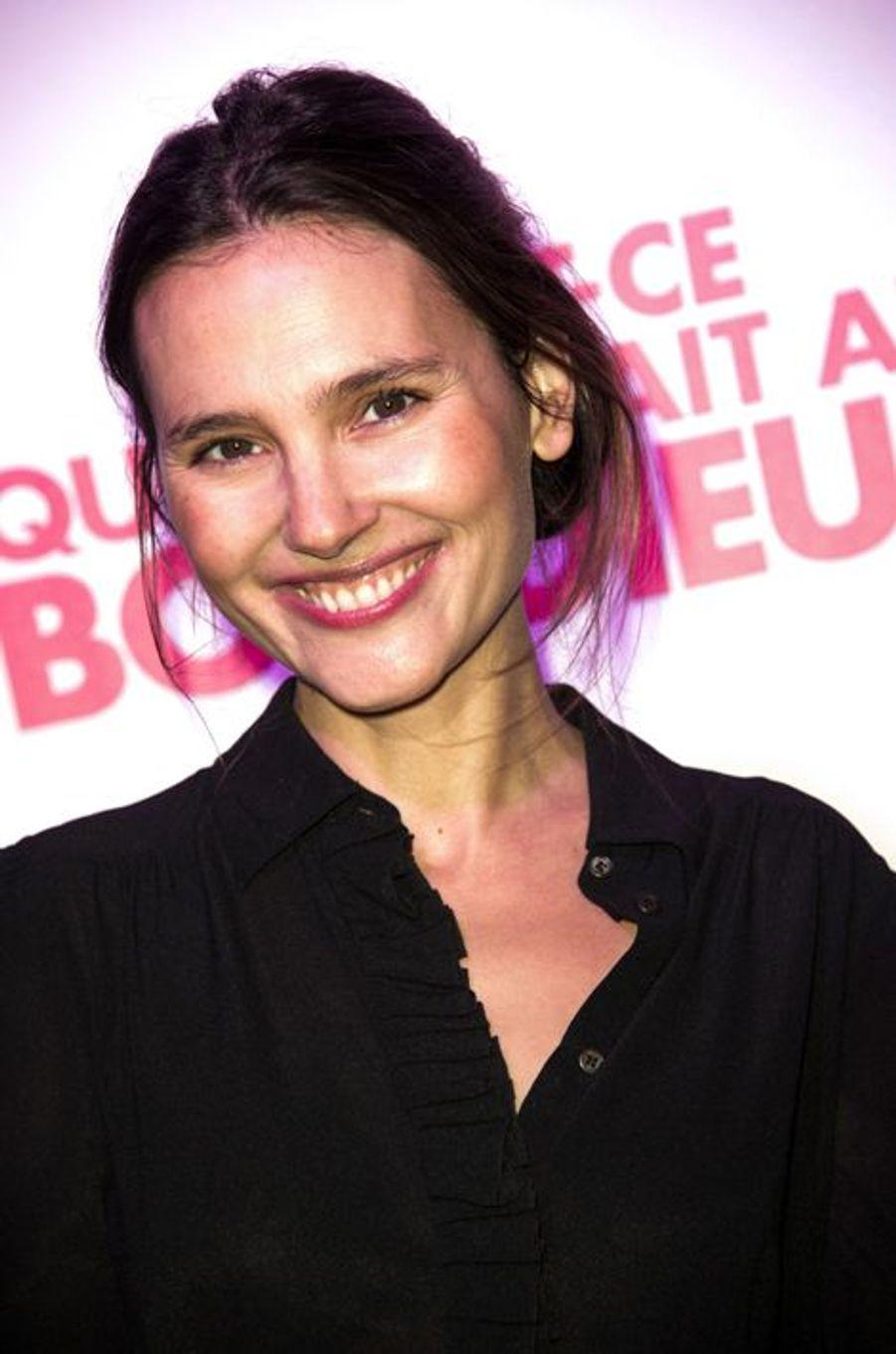 Virginie Ledoyen à Paris le 8 décembre 2014