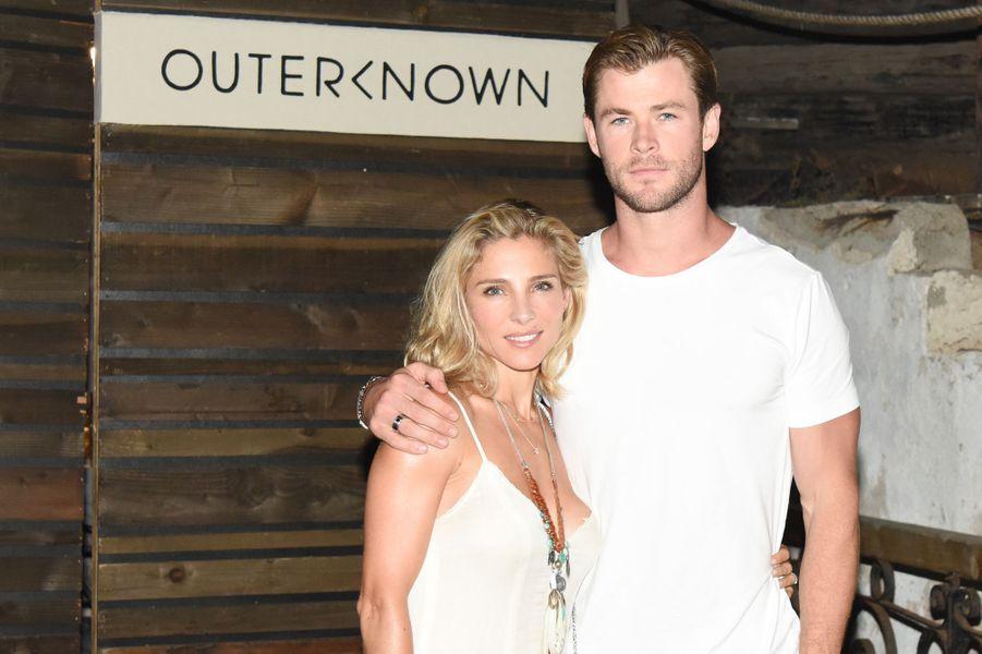 Elsa Pataky et son mari Chris Hemsworth célébraient le lancement de la nouvelle marque de Kelly Slater samedi dernier.