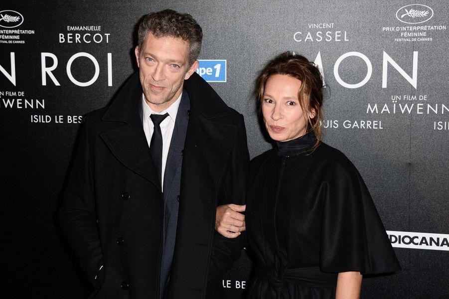 Vincent Cassel et Emmanuelle Bercot