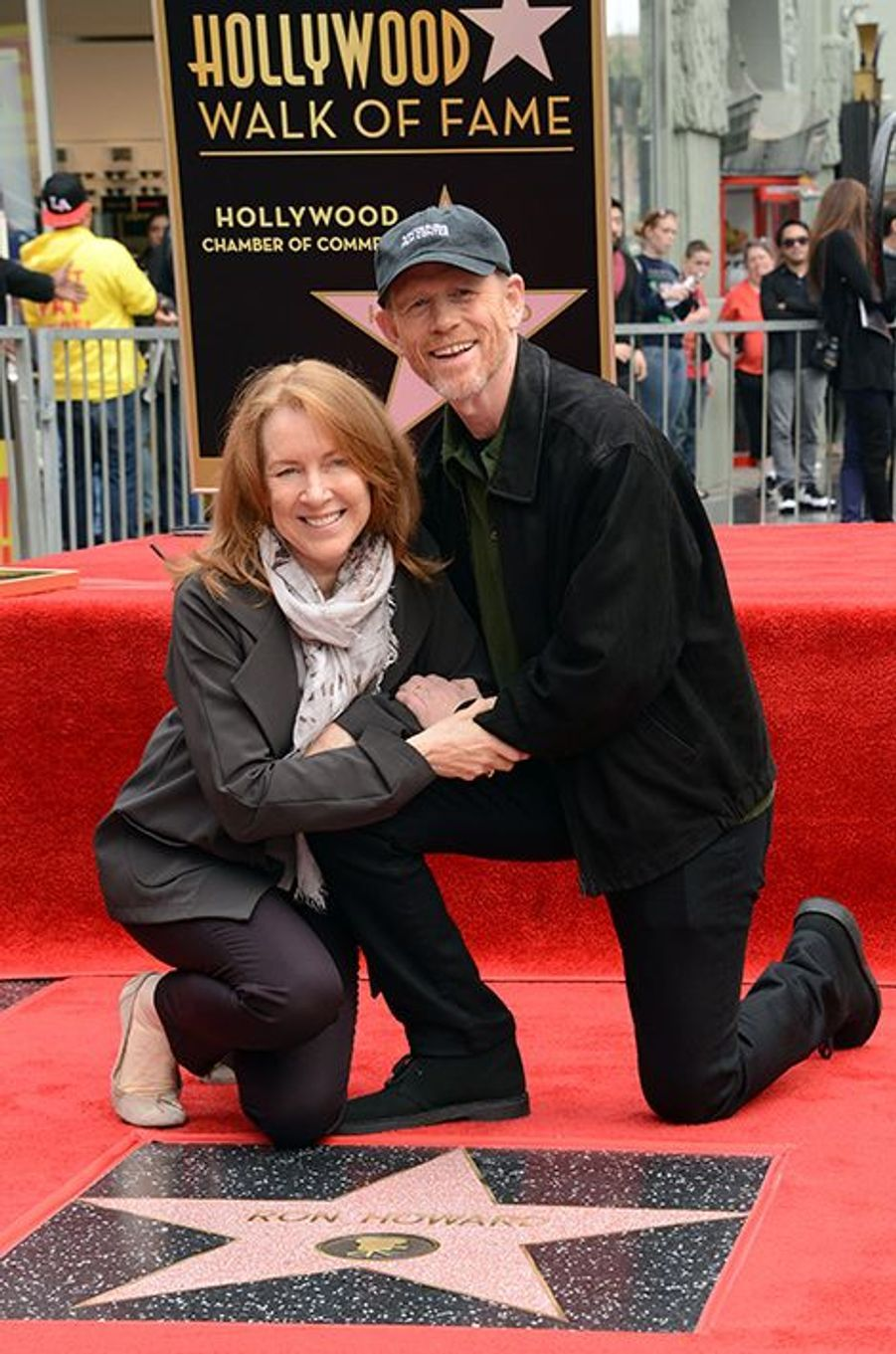 Cheryl et Ron Howard à Los Angeles le 10 décembre 2015
