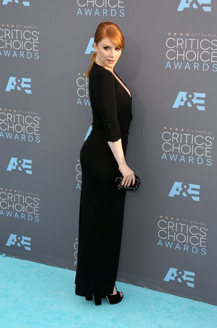 Bryce Dallas Howard (en robe Balmain)
