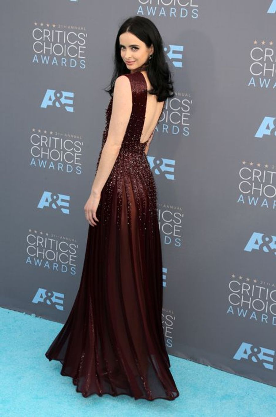 Le tapis rouge des Critics' Choice Movie Awards