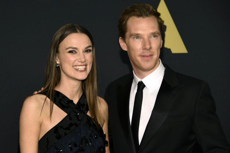 Keira Knightley et Benedict Cumberbatch
