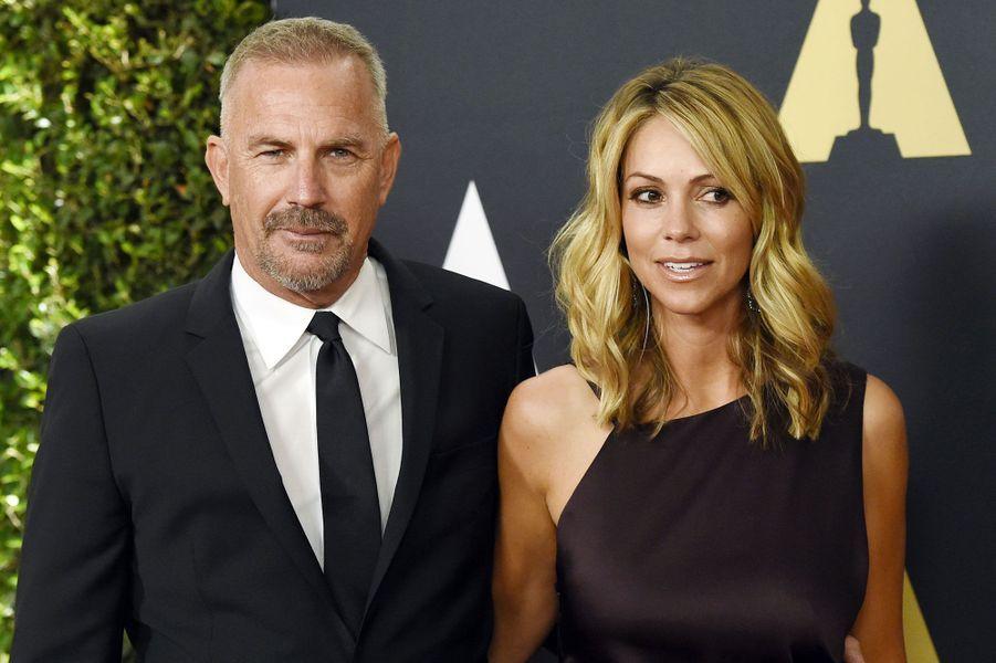 Kevin Costner et sa femme, Christine Baumgartner