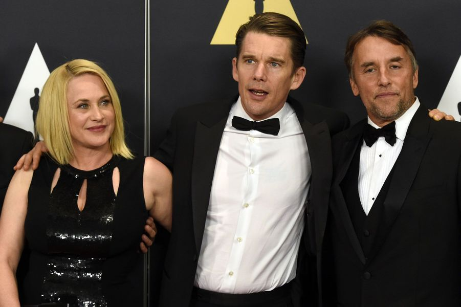 Patricia Arquette, Ethan Hawke, et Richard Linklater