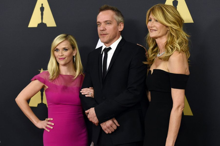 Reese Witherspoon, Jean-Marc Vallee et Laura Dern
