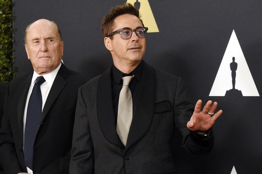 Robert Duvall et Robert Downey Jr.