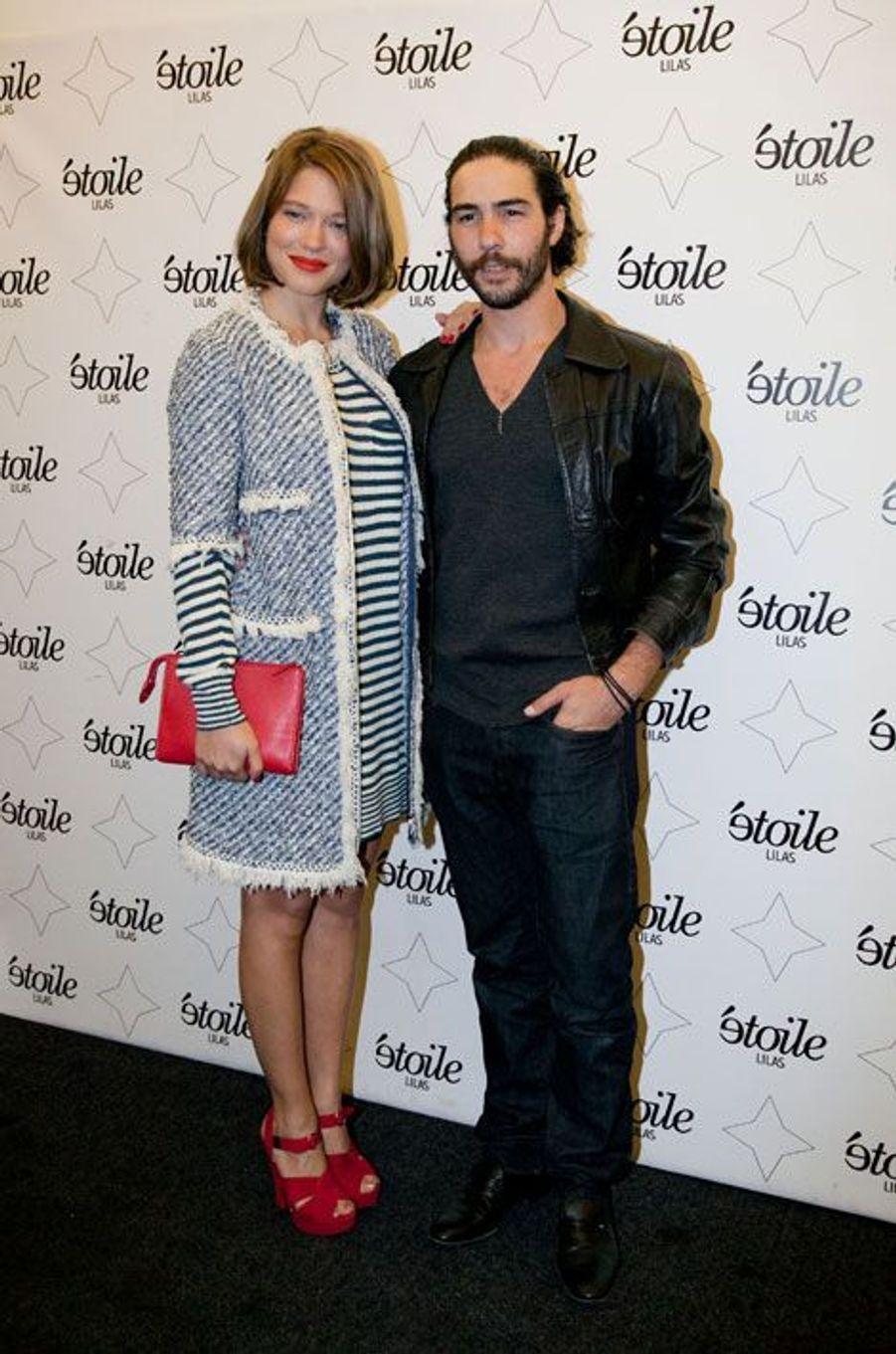 """Léa Seydoux et Tahar Rahim, rayonnants pour """"Grand Central"""""""