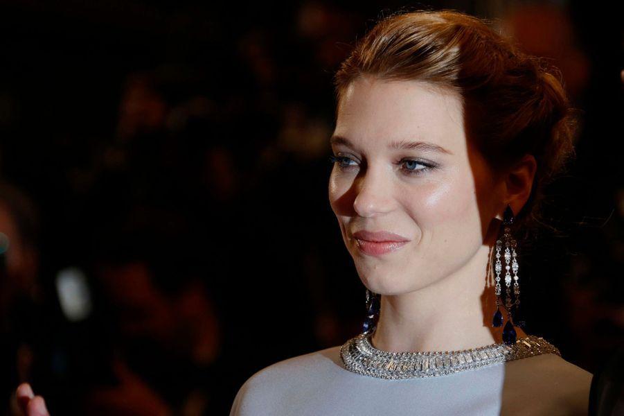 Léa Seydoux, la beauté du tapis rouge