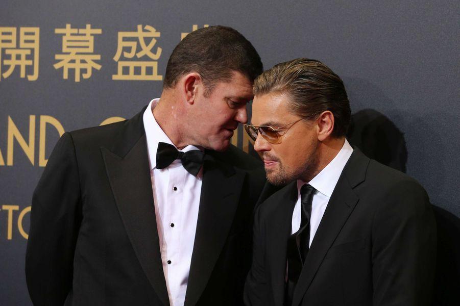 James Packer et Leonardo DiCaprio
