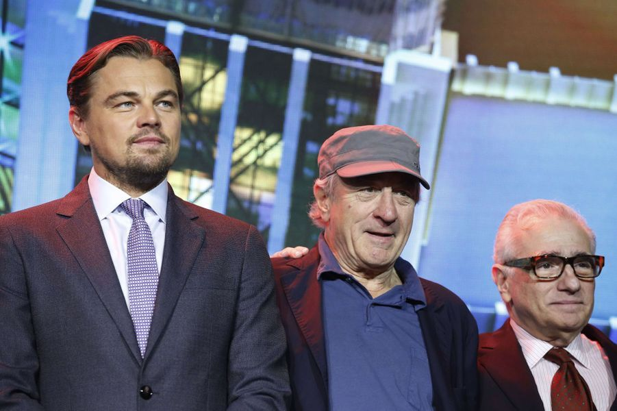 Leonardo DiCaprio, Robert De Niro et Martin Scorsese
