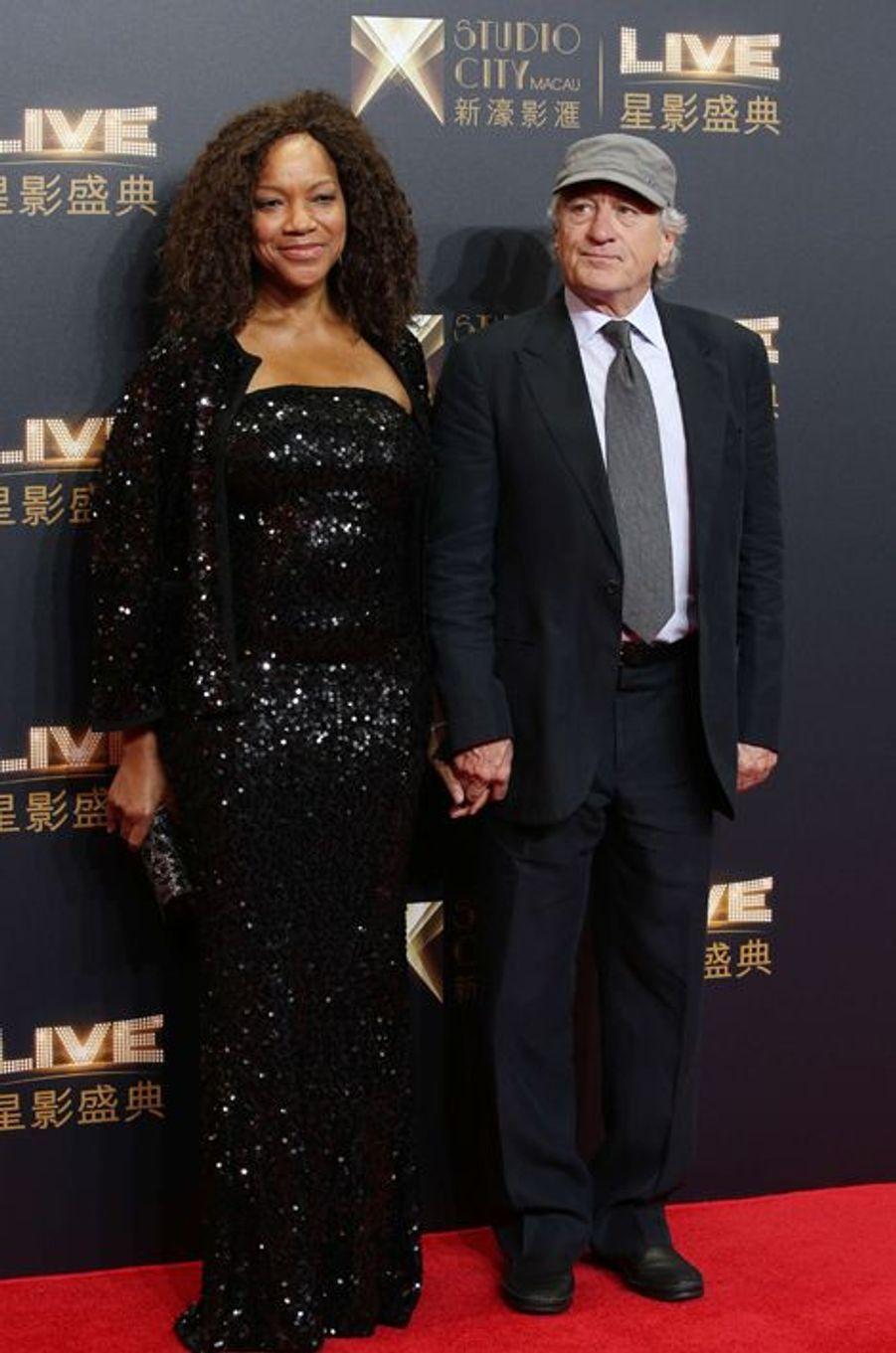 Robert De Niro et son épouse Grace