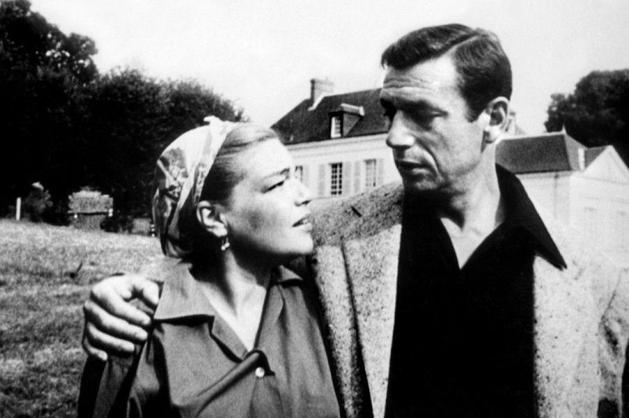 """Ils se rencontrent en 1949 et se marient en 1951. Malgré de nombreux problèmes, le couple restera uni jusqu'au décès de Simone Signoret, en 1985.Film : """"Montand le film"""", 1994"""