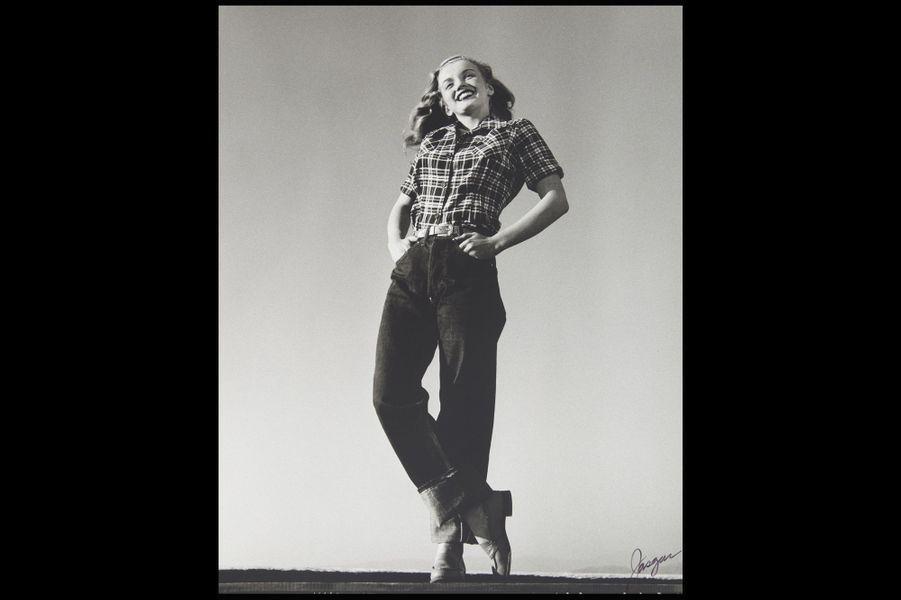 Les débuts de Marilyn Monroe sous l'objectif