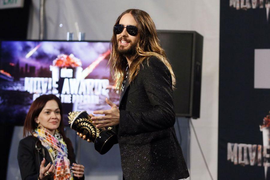"""L'acteur a remporté le prix de la """"meilleure transformation à l'écran"""" pour le film """"Dallas Buyers Club""""."""