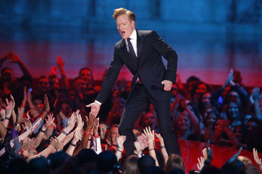 Le présentateur de la soirée, Conan O'Brien