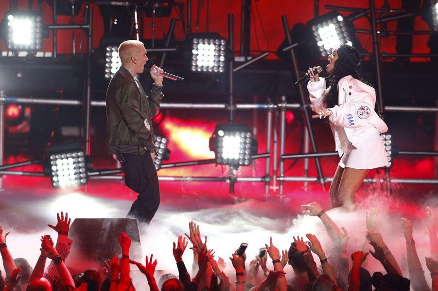 Rihanna et Eminem