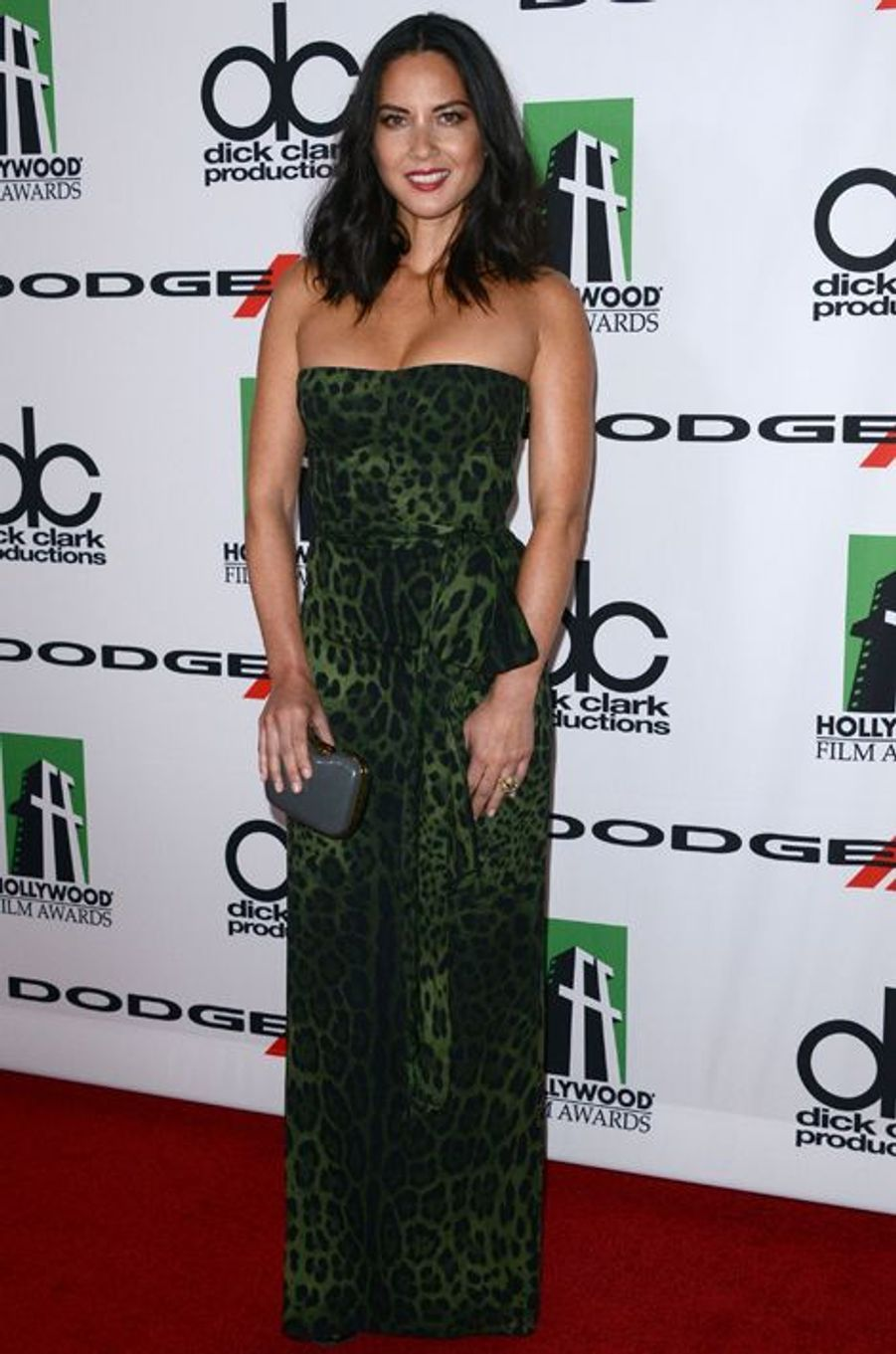 Olivia Munn en Dolce & Gabbana aux Hollywood Film Awards, en octobre 2013