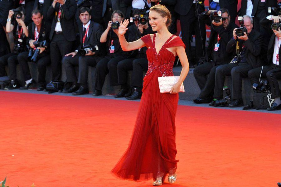 En 2010 au Festival du film de Venise