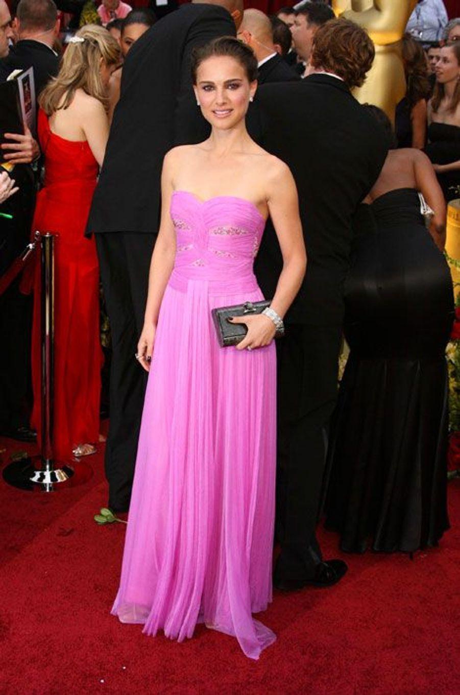 En rose pour les Oscars 2009