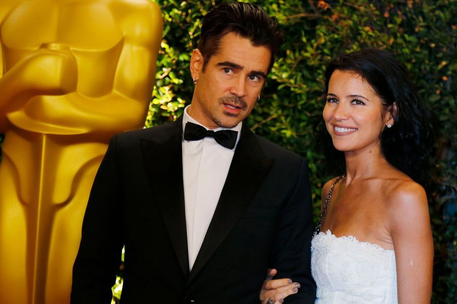 Colin Farrell et sa soeur, Claudine