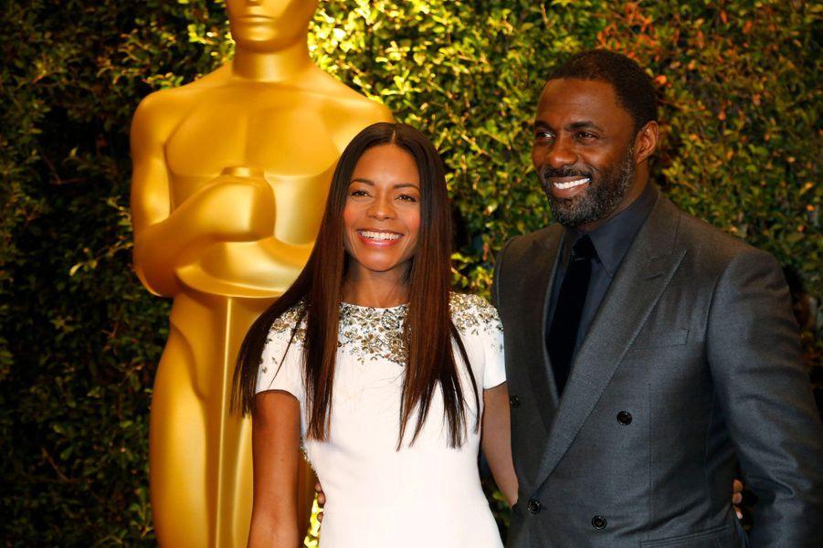Naomie Harris et Idris Elba, stars de «Mandela: Un long chemin vers la liberté»