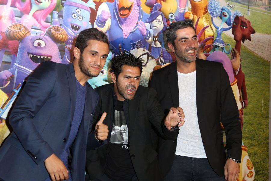 Jamel, Malik Bentalha et Ary Abbitan