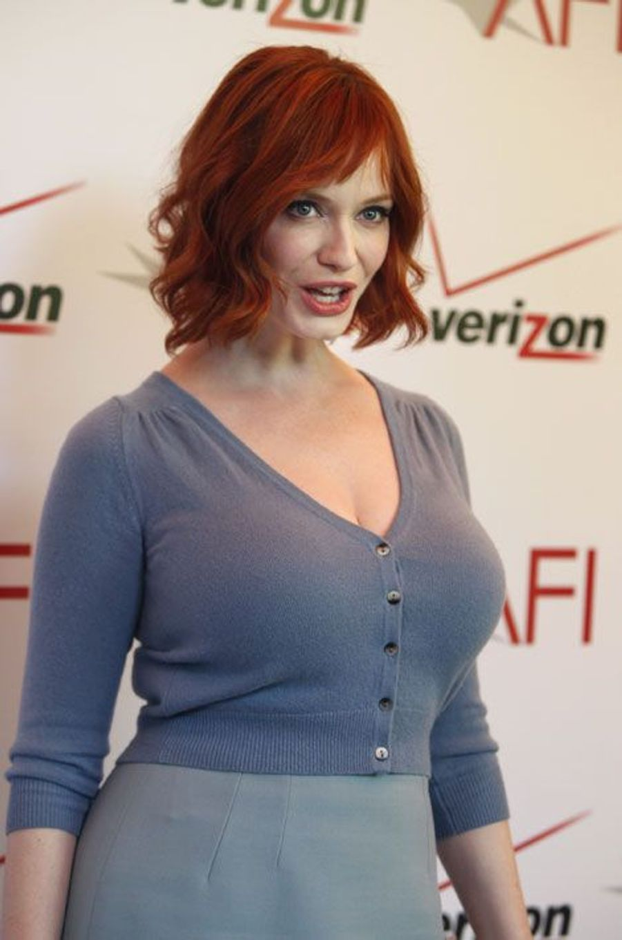 "Christina Hendricks pour ""Mad Men"""