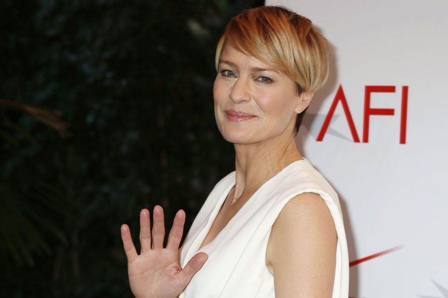 "Robin Wright, pour ""House of cards"""