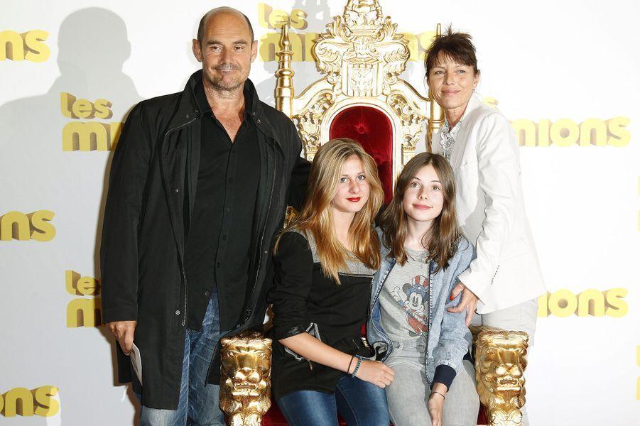 Bernard Campan en famille