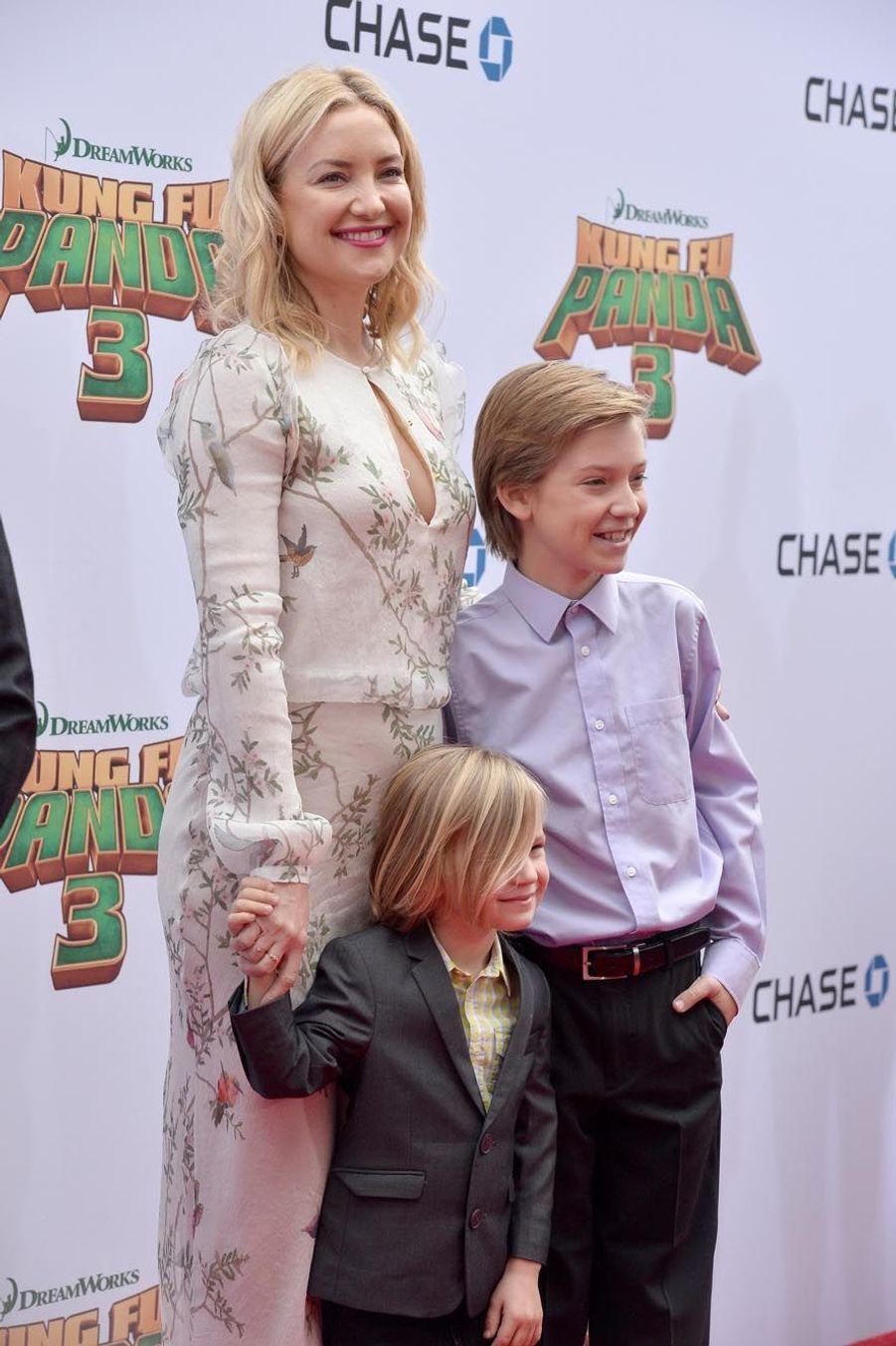 Kate Hudson et ses enfants