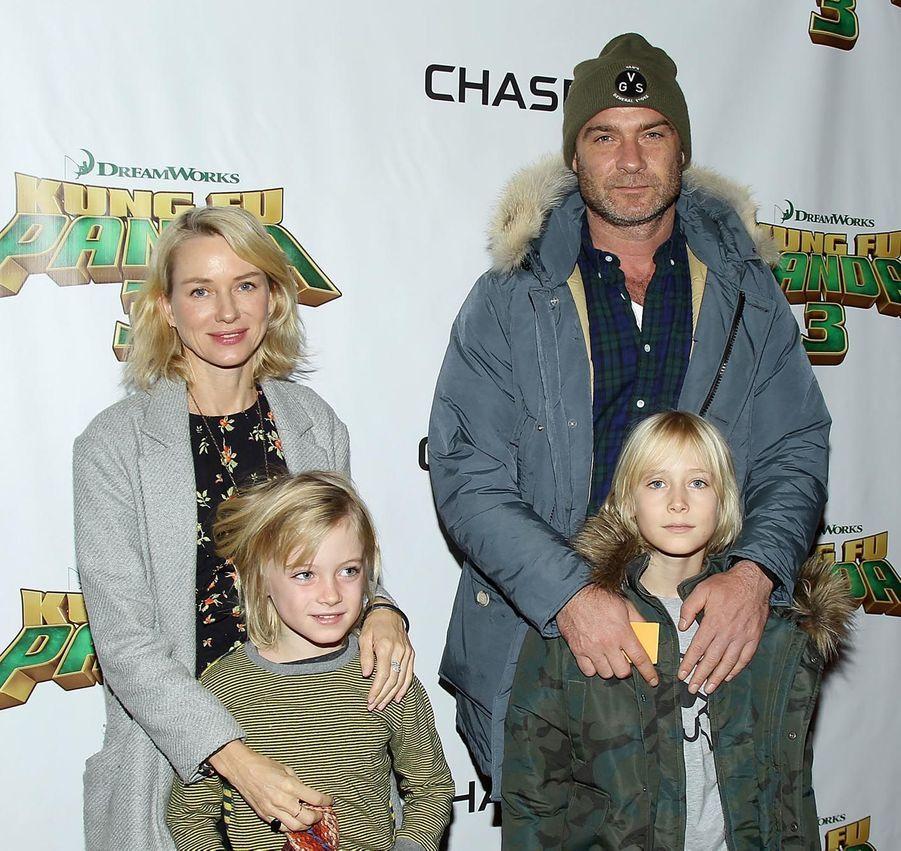 La petite famille Watts/Schreiber