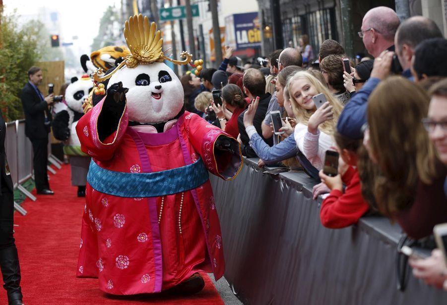 """Les stars et leurs marmots pour """"Kung Fu Panda 3"""""""