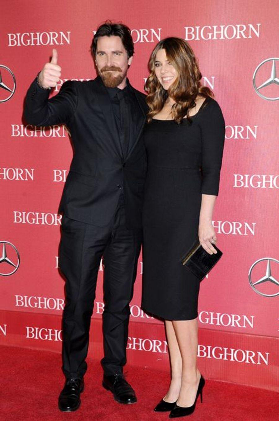 Christian Bale et son épouse Sandra Blazic
