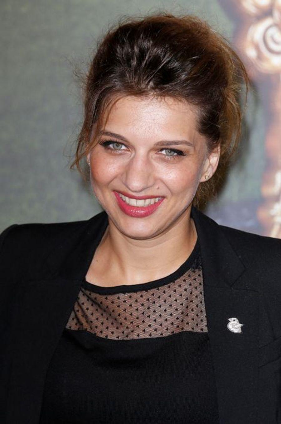 Amandine Bourgeois à Paris le 22 mars 2015