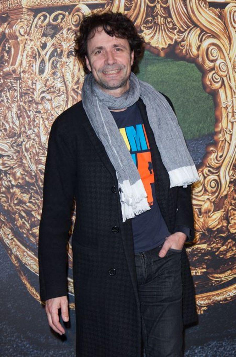 Christophe Carrière à Paris le 22 mars 2015