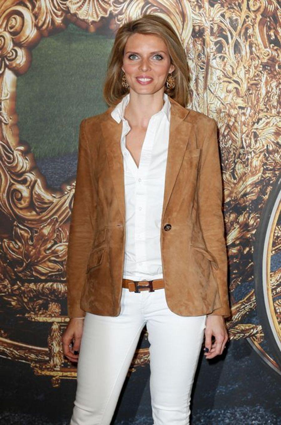 Sylvie Tellier à Paris le 22 mars 2015