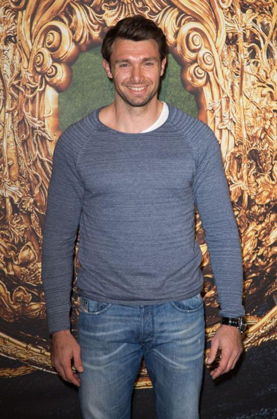 Vincent Clerc à Paris le 22 mars 2015