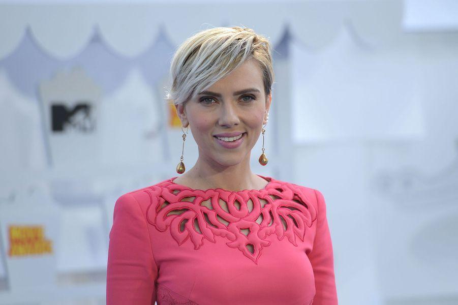 Scarlett Johansson à Los Angeles le 12 avril 2015